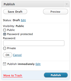 Screen shot 2011 02 26 at 11.32.32 AM Password Protect a WordPress Page