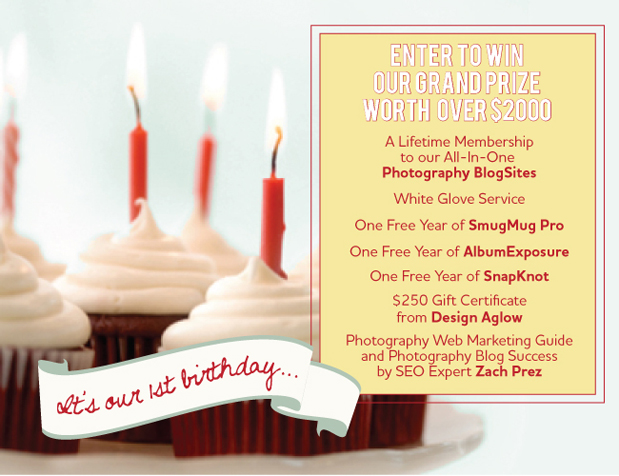 Blog BirthdayGiveaway619 Oh yeah...its our birthday.