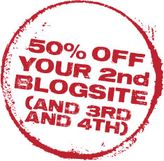 50OFFYOUR2NDSITE 50% Off Your Second Site! Now, Easier To Set Up With... SnapShots!