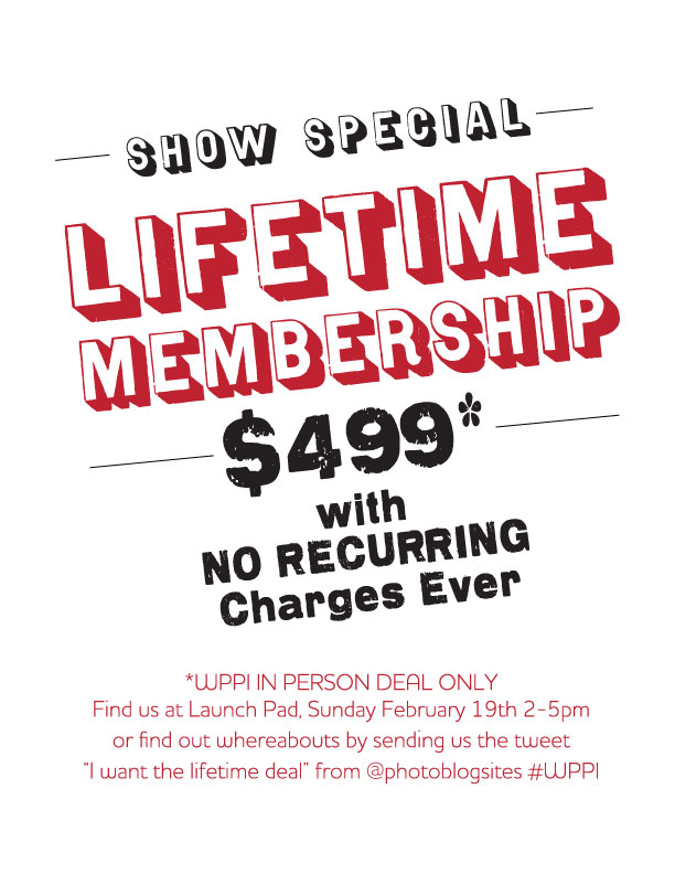 LifetimeArtwork Bringing Back the Lifetime Deal! (For WPPI ONLY)