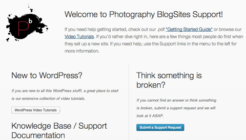 support page WordPress Upgrade, Better SmugMug Integrations and More!