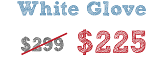 white glove A new look for us & for you!